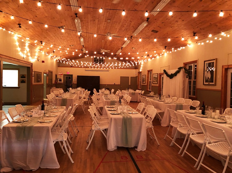 Utterson Community Hall is one of two community halls that offer an affordable option for all types of events (Town of Huntsville)