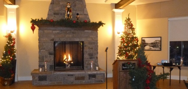 The Active Living Centre is a beautiful venue for a holiday party