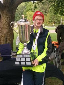 James Olson-Keating of Bracebridge won this year's Ontario Youth Cup in the 12-13 age category by finishing first in all four races