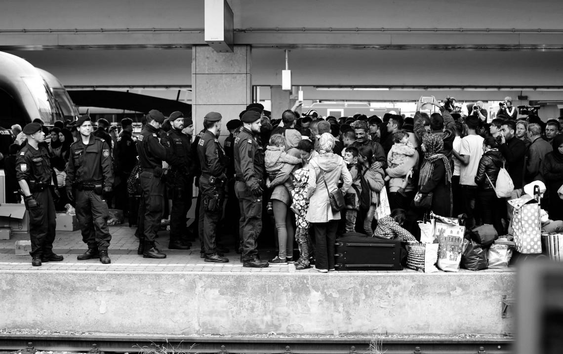 Syrian Refugees in Vienna by Josh Zakary