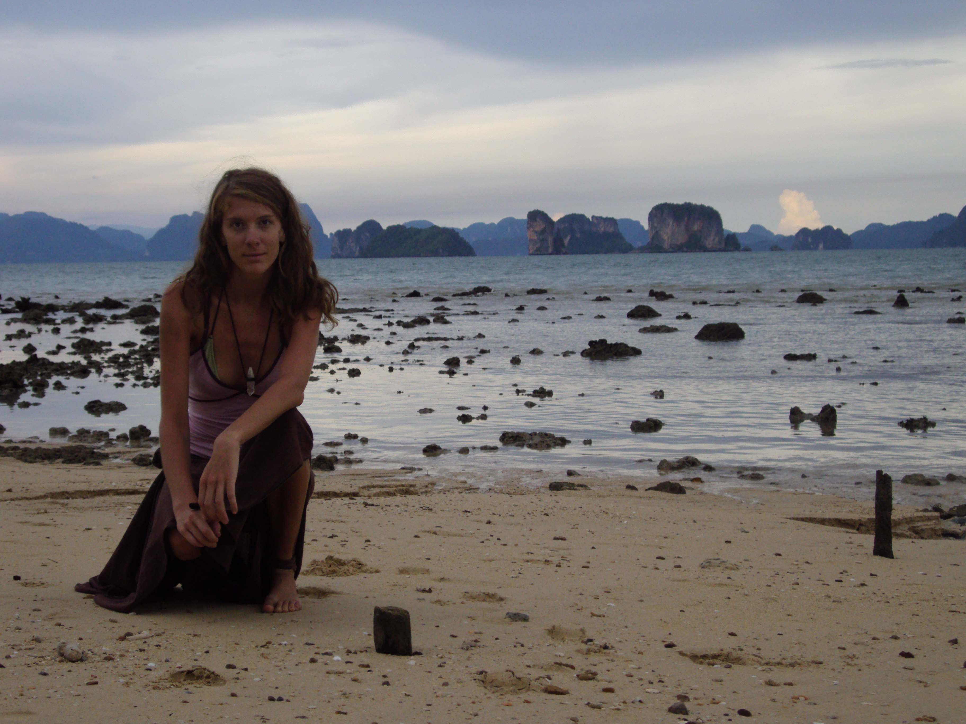 A world away on the Andaman Coast of Thailand. Photo provided