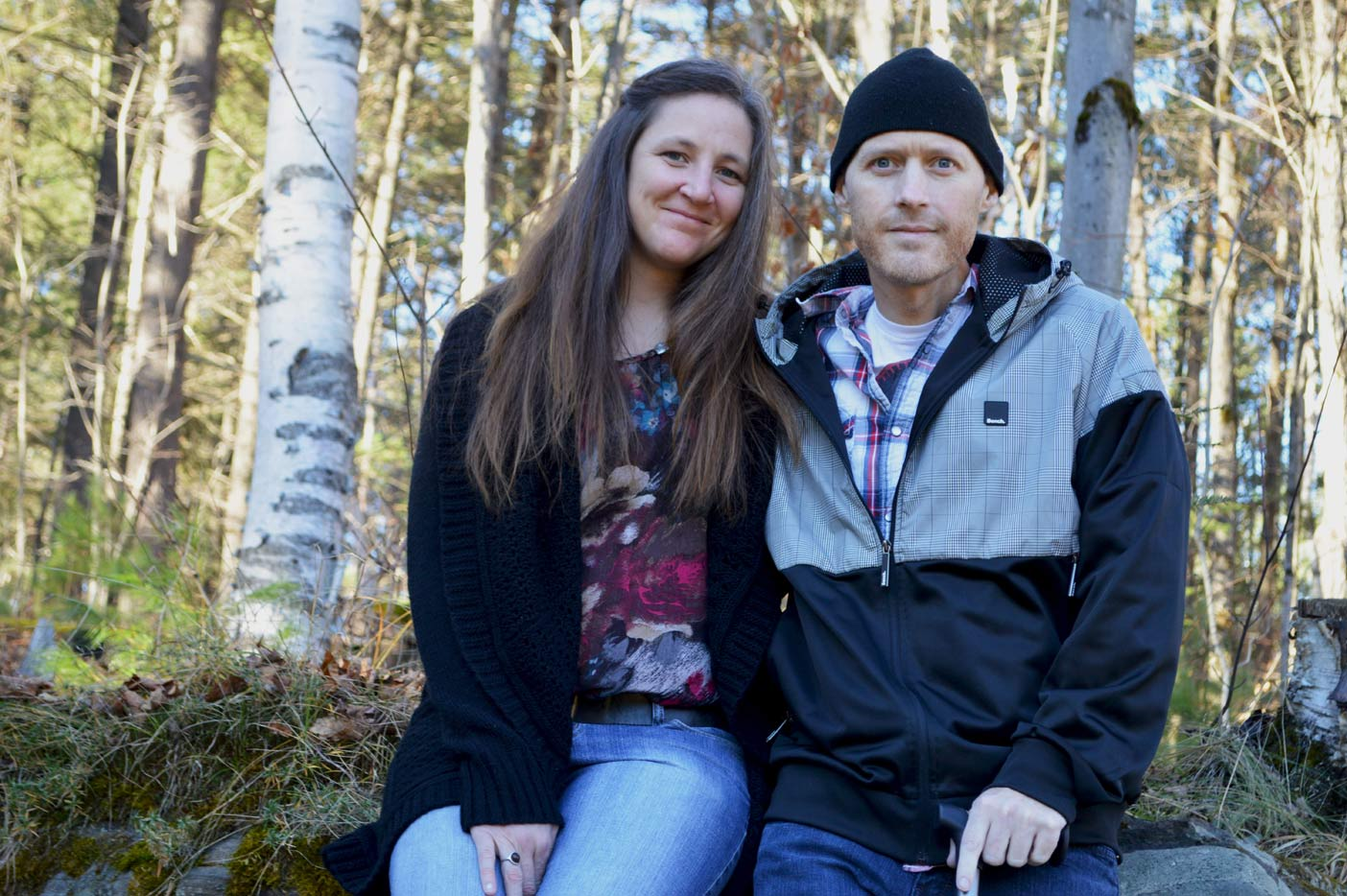 Dave says Karrie has been by his side every step of the way through his battle with cancer.