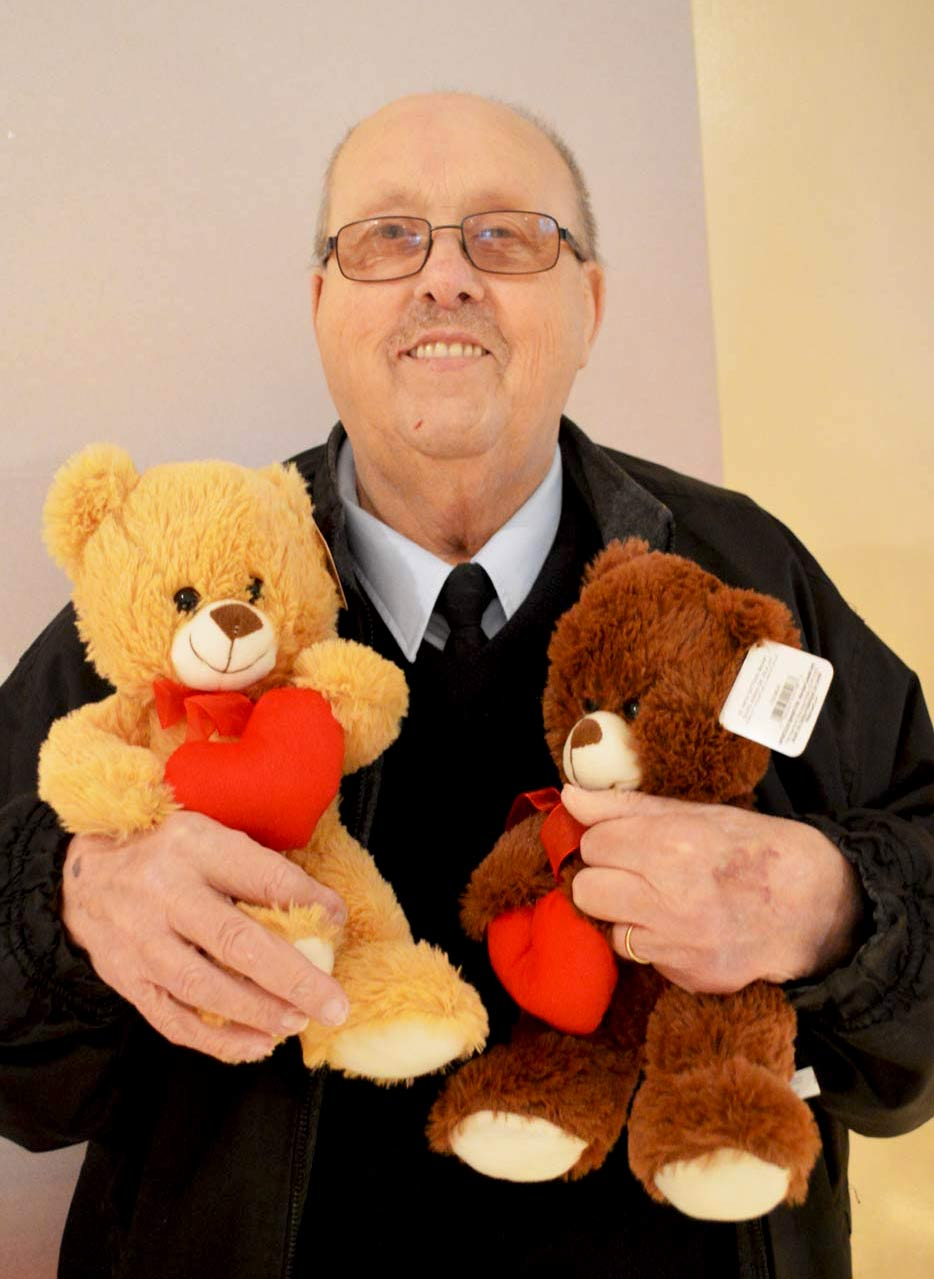 Doug Dalrymple is sort of like a teddy bear himself. He is a kind-hearted man with an affinity for making children happy.