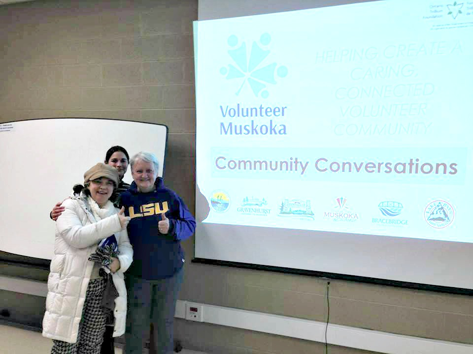 Community Conversations help Volunteer Muskoka understand what local organizations and volunteers need