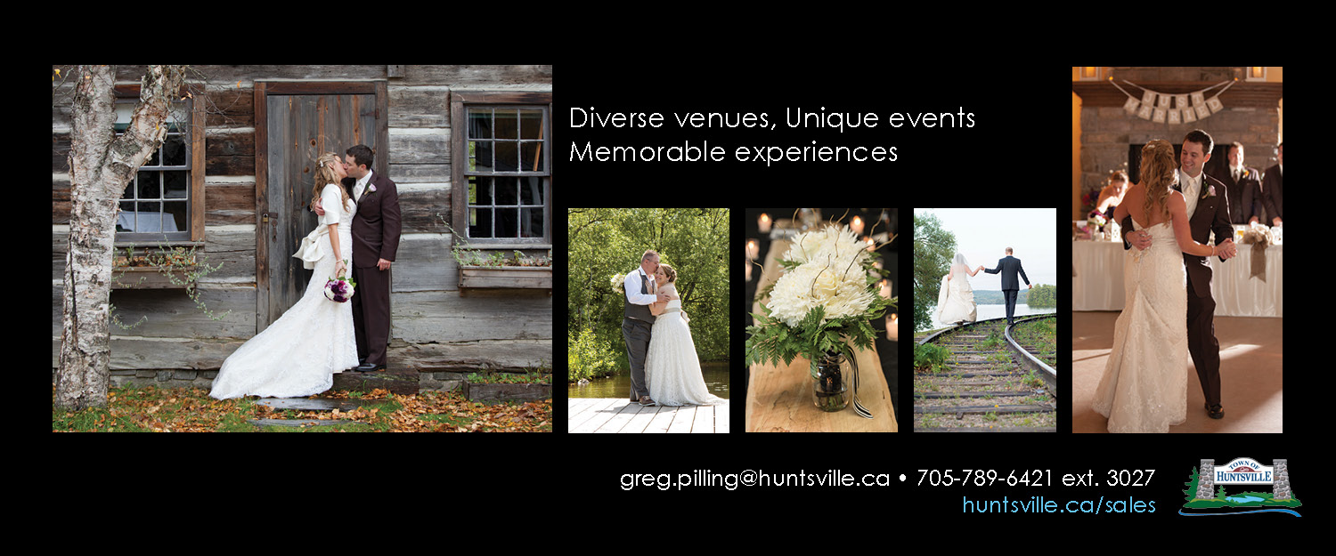 Town of Huntsville Weddings banner