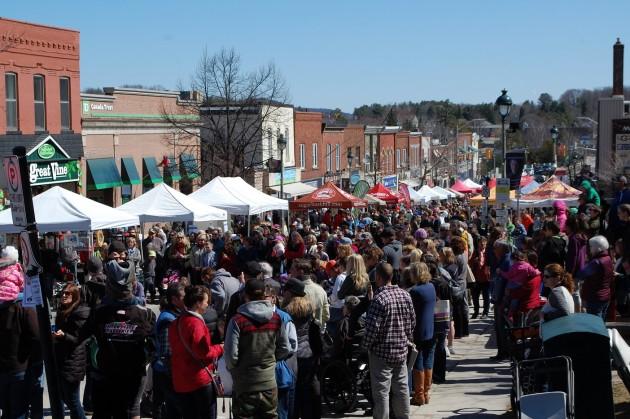 The Muskoka Maple Festival is a popular event (Doppler file photo)