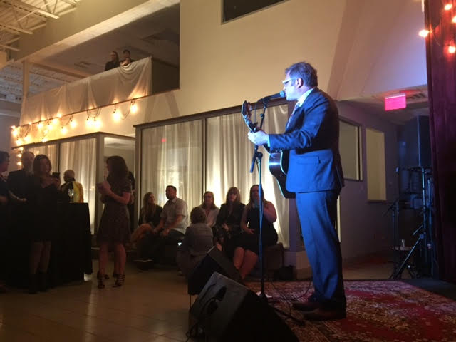 Steven Page plays at After Party - Night on the Hill, a fundraiser for the Huntsville Hospital Foundation. Photo: Liz Rice