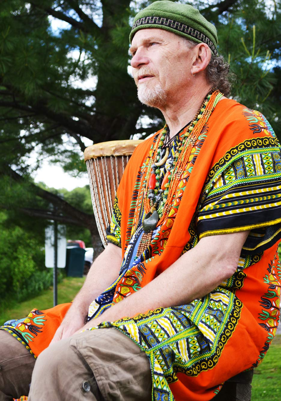 According to Barry, the drum is a powerful instrument that brings people together in a harmonious way.