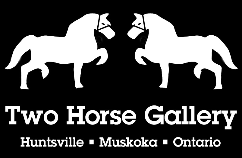 Two Horse Gallery logo