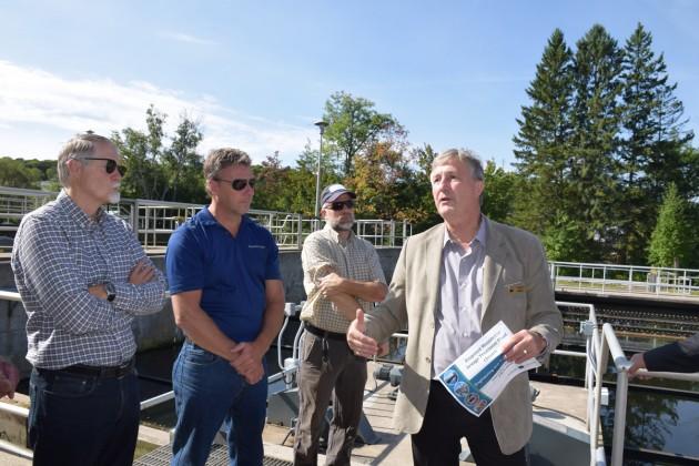 Mountview Wastewater Treatment Plant tour