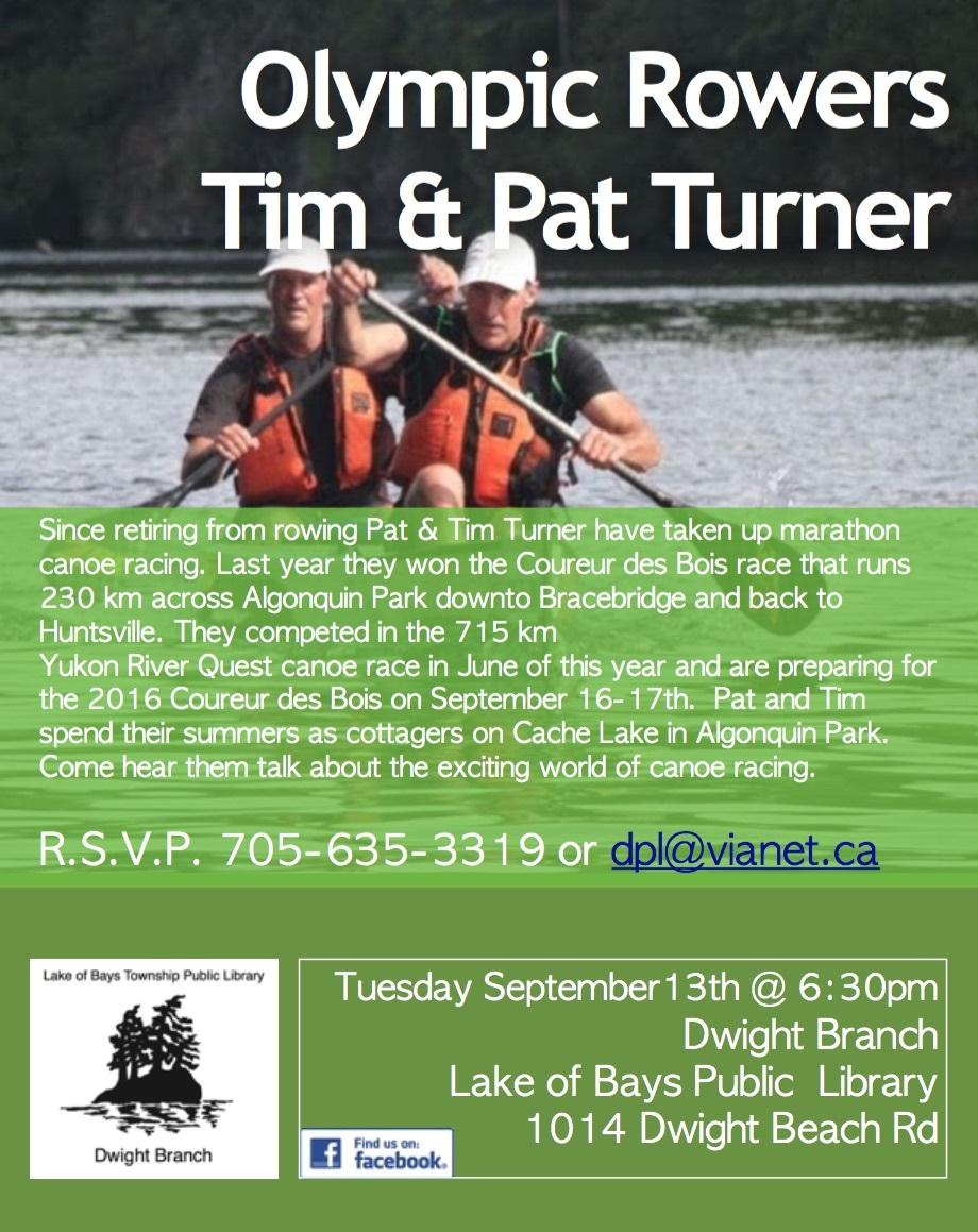 Pat and Tim Turner