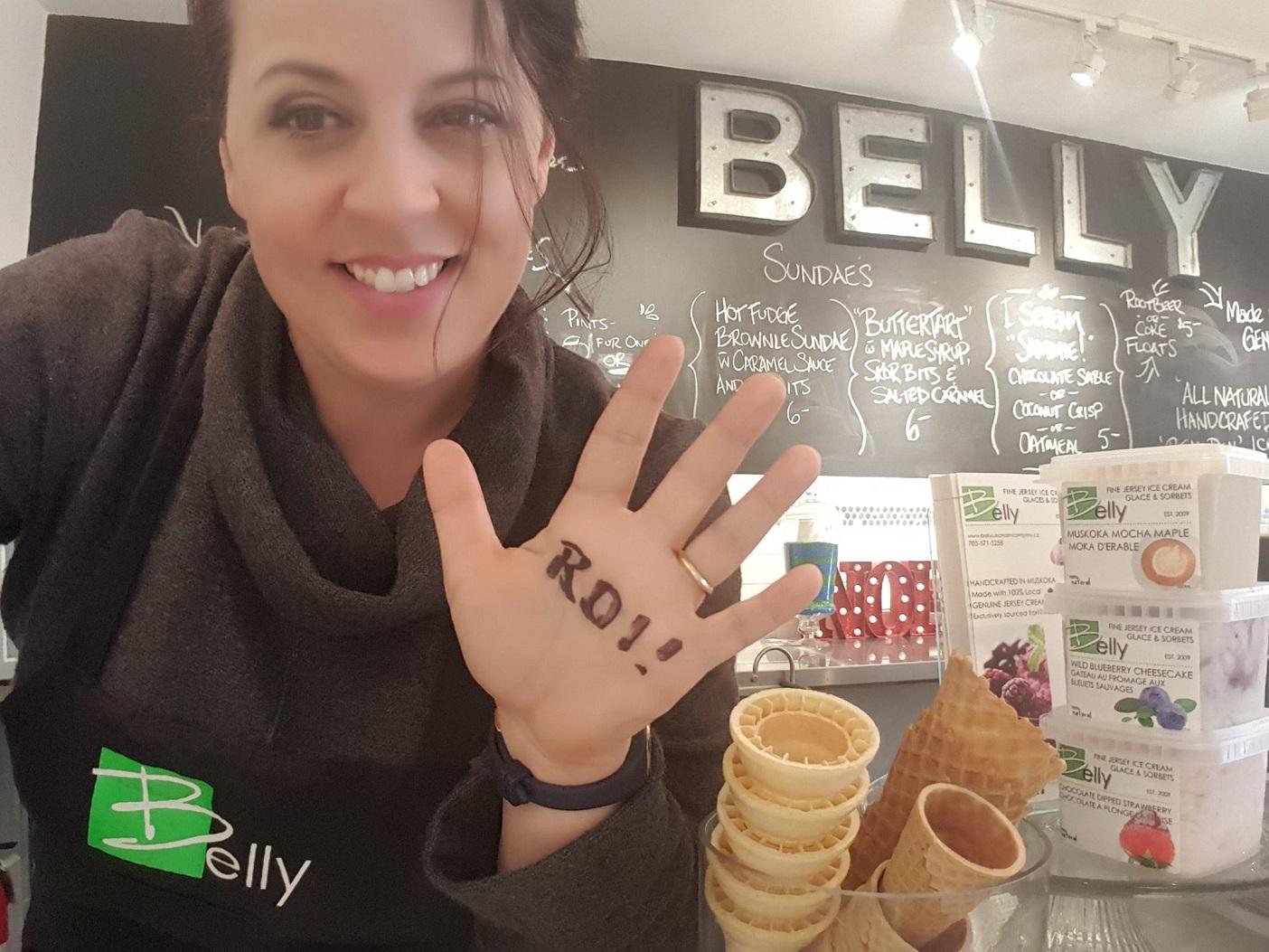 Shelley Westgarth, Belly Ice Cream Company