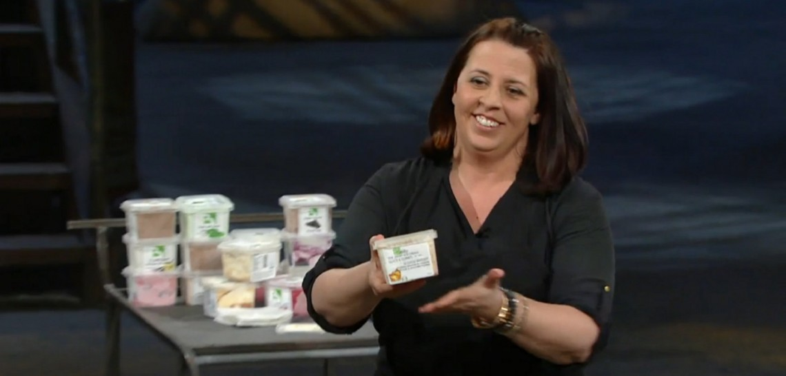 Shelley Westgarth, Belly Ice Cream Company, on the Dragons' Den