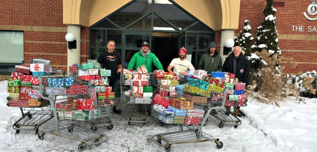 Muskoka Shoebox Project at Salvation Army