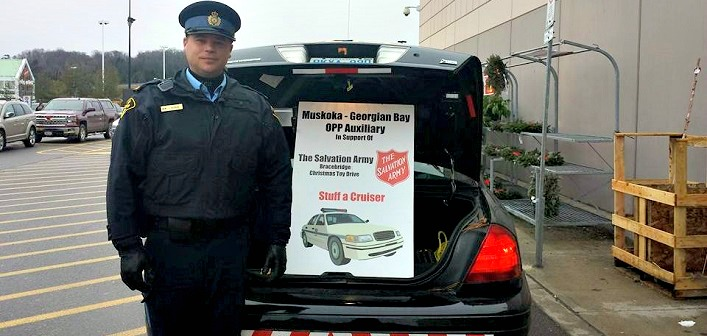 Stuff-a-Cruiser Toy Drive