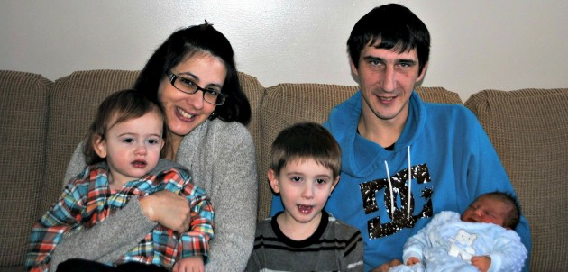 Christopher Cort and family