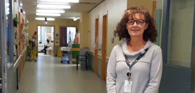 Karen Hamra, spiritual care practitioner (chaplain) at MAHC