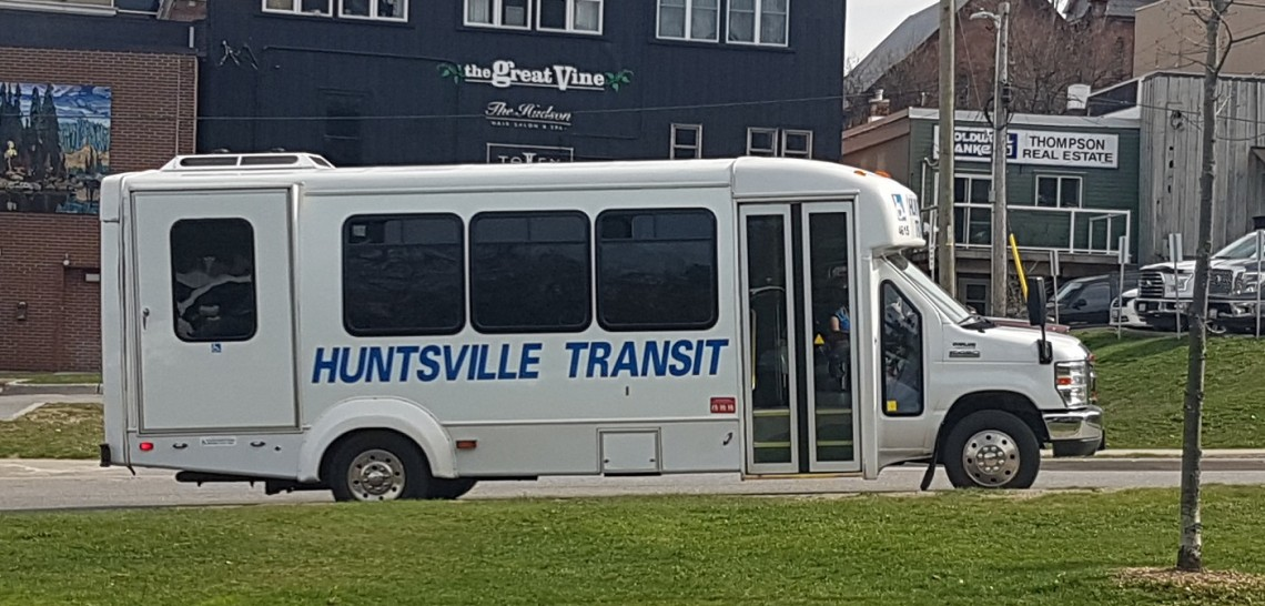 A Huntsville Transit bus on its in-town route (Doppler file photo)