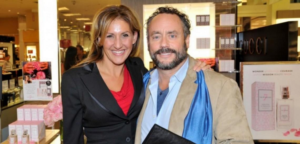Barbara Stegemann & Brett Wilson on ET Canada! (Image www.speakers.ca)