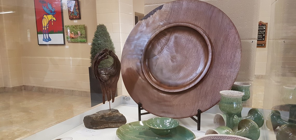 The Artists of the Limberlost Members Show runs until February 13, 2018 at the Canada Summit Centre art atrium