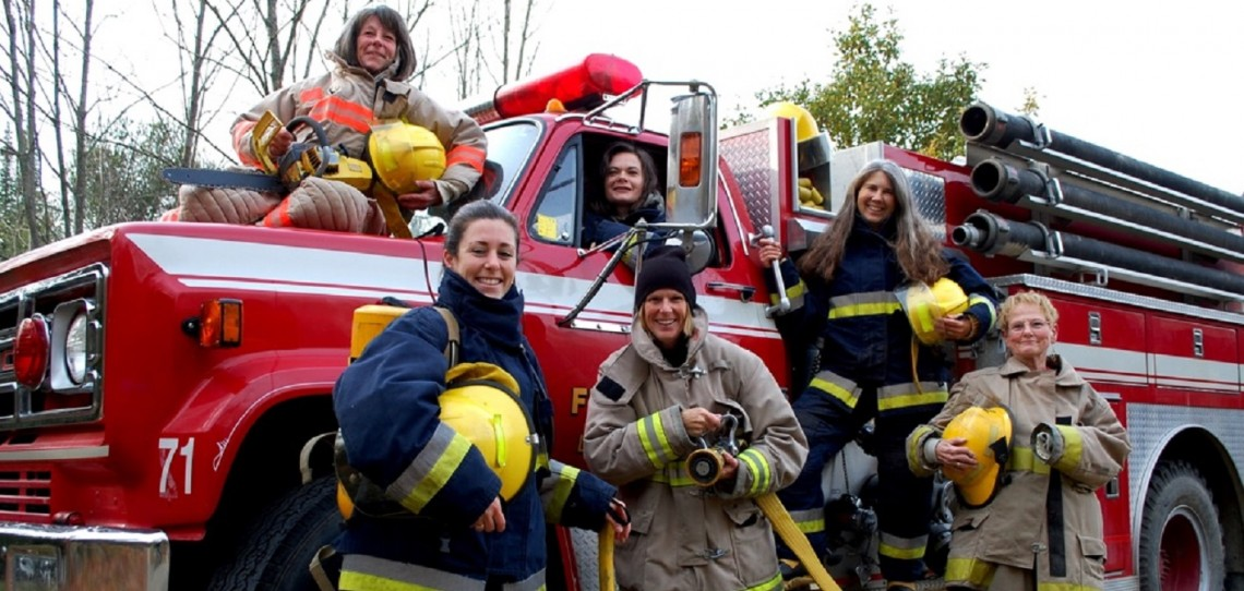 The Firefighter Femmes Adventures by Find Your Wild is just one of the fun activities available during Girlfriends' Getaway Weekend
