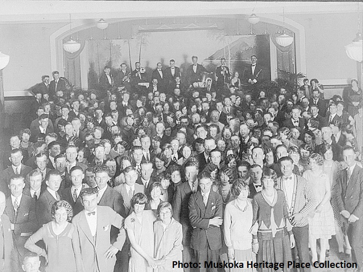 The original Town Hall auditorium, date and event unknown