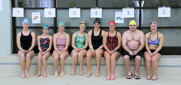 First, a 15-minute swim (Photo: TriMuskoka)