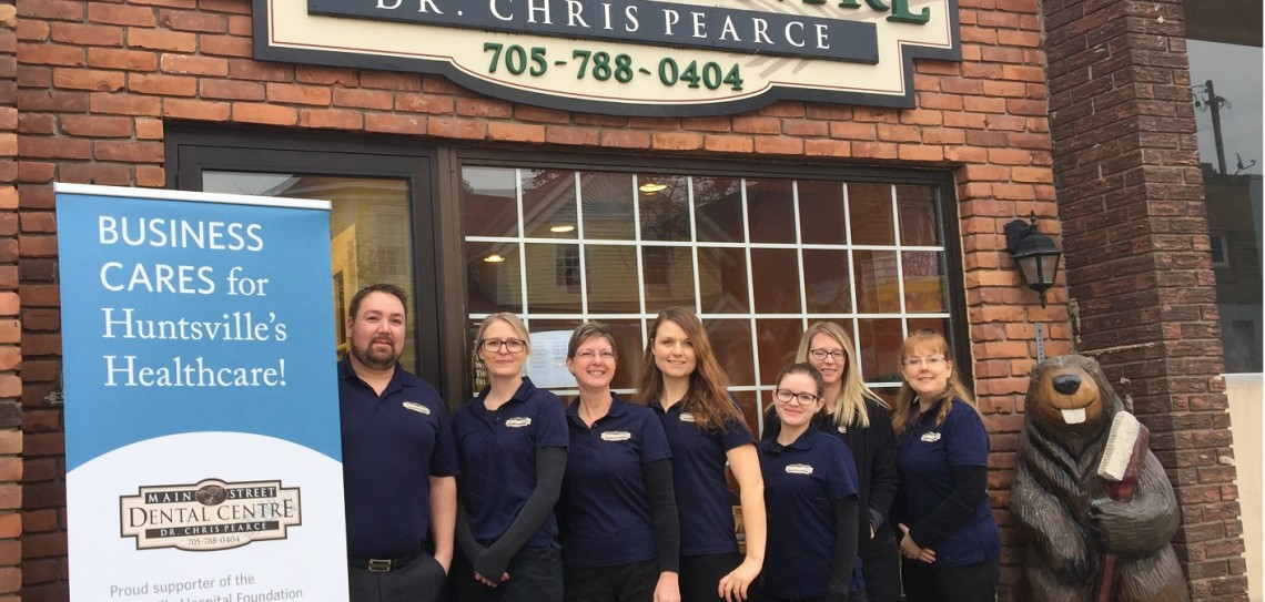Main Street Dental is among the latest businesses to support the Huntsville Hospital Foundation's Business Cares program