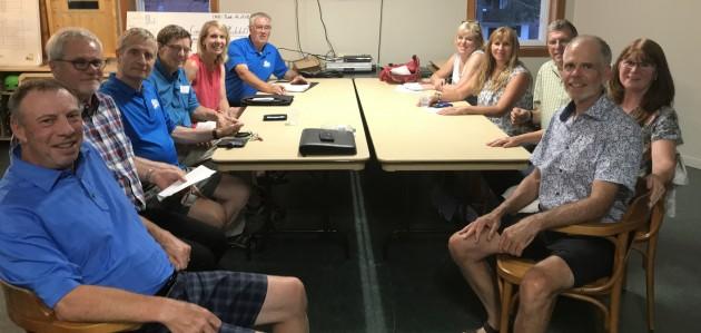 Huntsville Curling Club's new board of directors