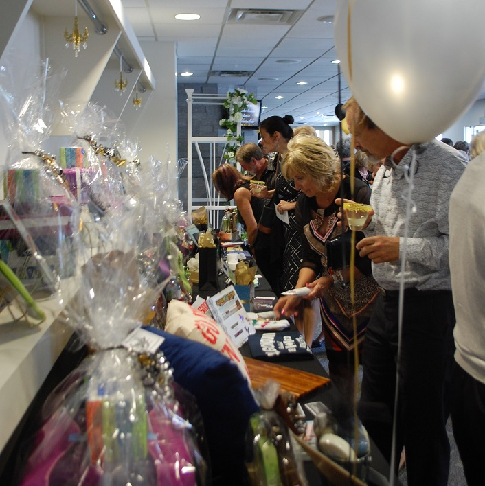There were many beautiful prizes up for grabs in the prize draw