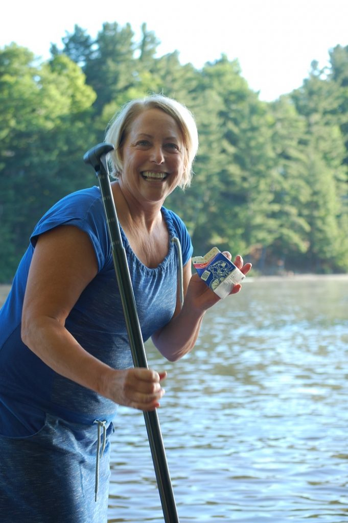 Katherine Craine goes on a milk run, er, paddle for the coffee bar