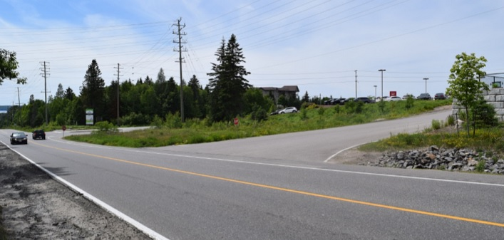 The site of the proposed Tamarack North proposed location office at 20 Hanes Road (Photo: Town of Huntsville)