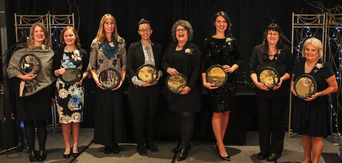 The 2018 YWCA Muskoka Women of Distinction Award recipients