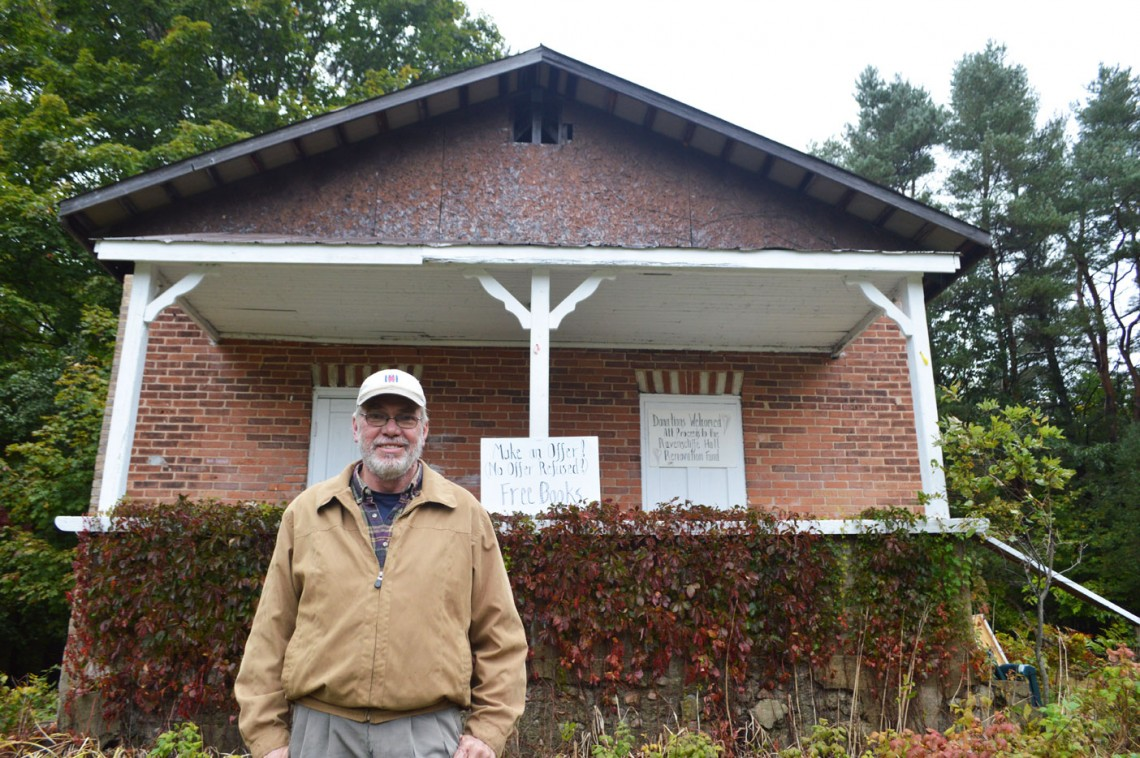 Rick Keevil has always believed the historic Ravenscliffe Community Centre could be brought back to life.