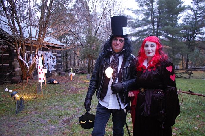 Alice Cooper in Wonderland, Matt Allen, with Red Queen Lori Allen