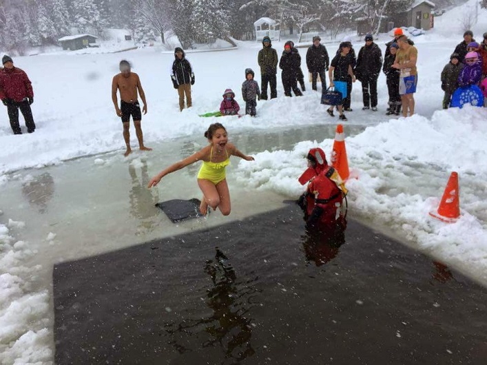 Whether you're a participant or a spectator, the Huntsville Polar Bear Dip is pure fun (supplied photo)