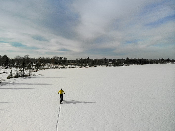 The team is hoping that they'll be able to make tracks on James Bay (Photo: Eric Batty)