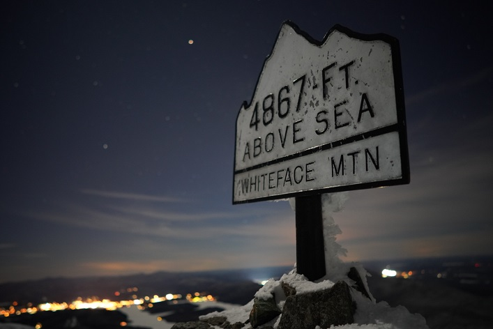 The elevation of Whiteface Mountain makes it ideal practice ground for a cold-weather expedition (Photo: Eric Batty)