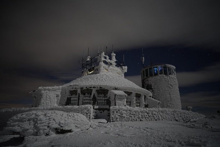 The weather station at Whiteface Mountain (Photo: Eric Batty)