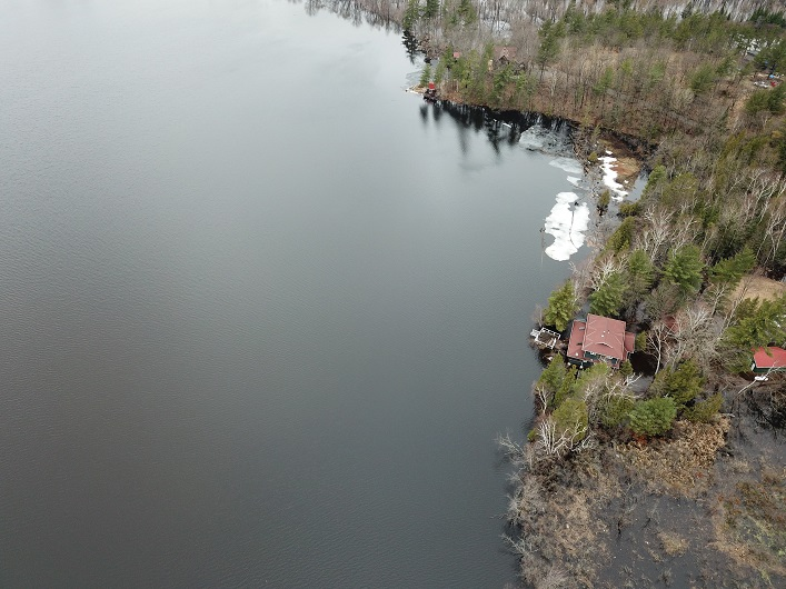 April 24, 2019 Lake Vernon shoreline (Photo: Dan Pinckard)