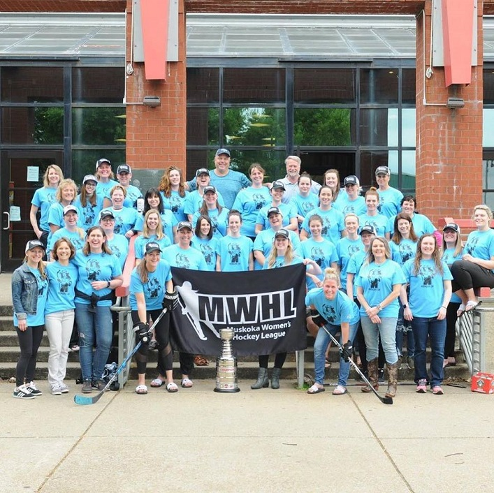 MWHL players at the arena in Nashville (supplied)