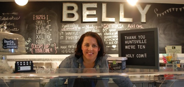 Shelley Westgarth, owner of Belly Ice Cream Company