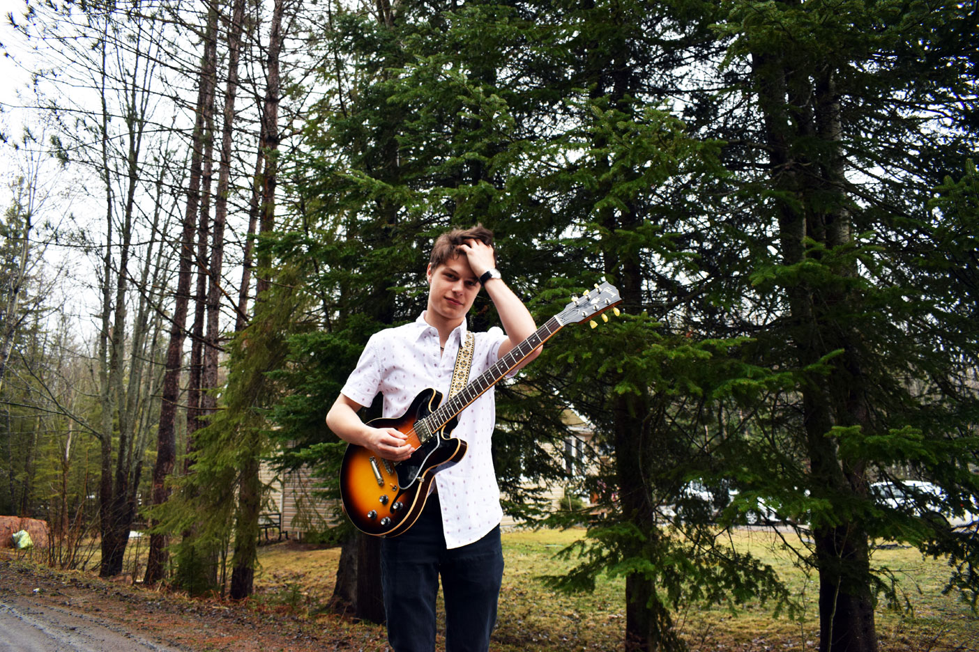 Jack Nickalls is brains and talent all rolled into one. This Huntsville musician will be performing at the Muskoka Jazz Festival this summer with his long-time friend Josie Robinson.