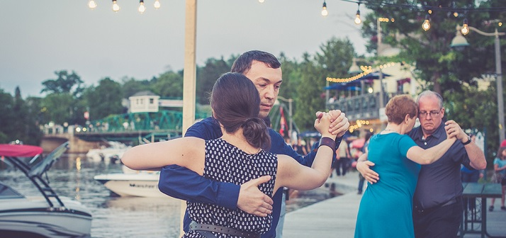 Dance the night away on the Town Dock as part of the inaugural Flavours of Ontario (Photo: Huntsville Festival of the Arts)