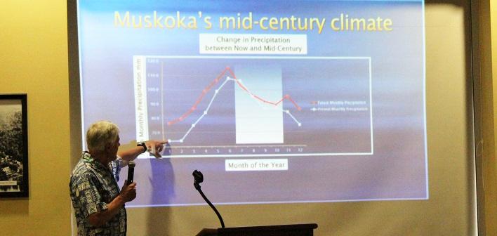 Dr. Peter Sale talks climate change in Muskoka