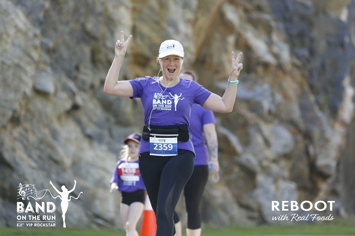Leigh Fettes shares her passion for running with everyone (supplied)