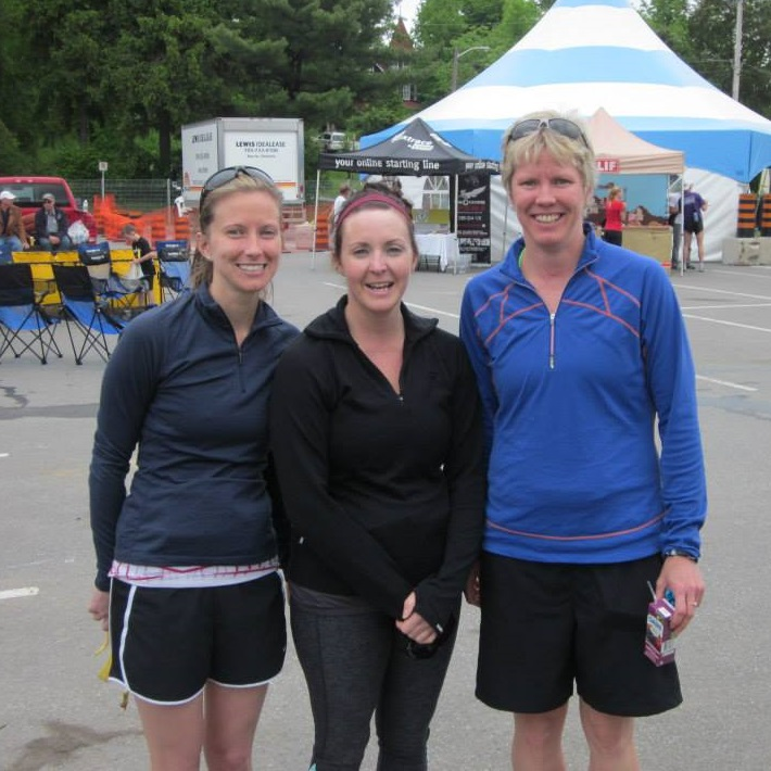 (From left) Patricia Durand-Bosworth, Pam Wagg and Cheryl Durand at BOTR 2013 (Photo: Barb Durand)