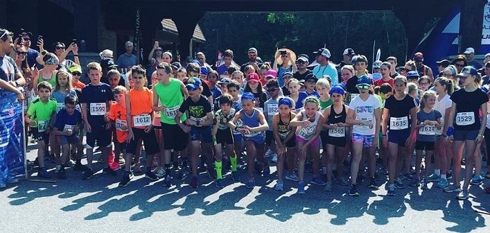These young athletes are eager to start the IronKids Muskoka 1km fun run (Photo: @im703muskoka / Instagram)