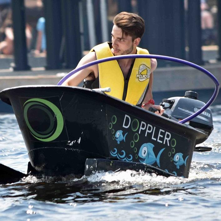Doppler driver Jesse Jodouin has his eye on the prize