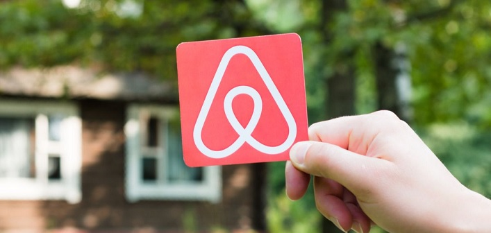 Airbnb stock photo